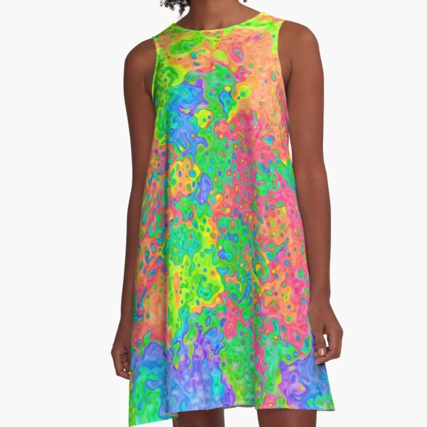 Abstract pattern A-Line Dress
