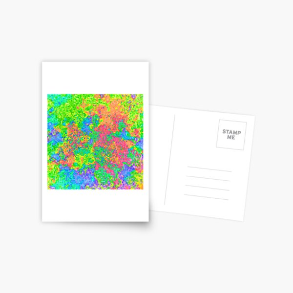 Abstract pattern Postcard