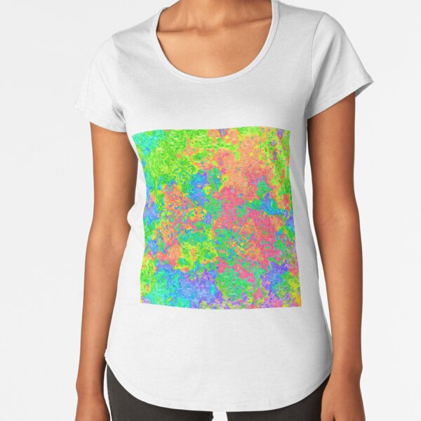 Abstract pattern Premium Scoop T-Shirt