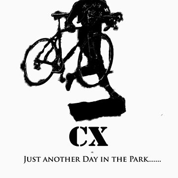 Cyclocross T Shirt by MJDesignLLC
