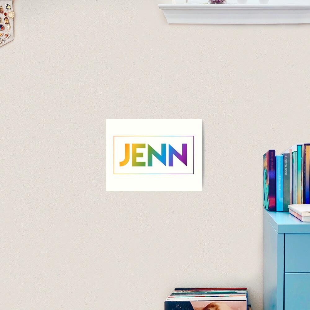 Jenn - Pride Edition Art Print
