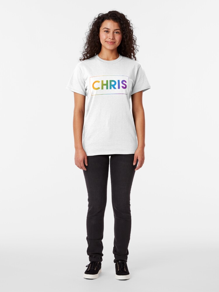 Alternate view of Chris - Pride Edition Classic T-Shirt