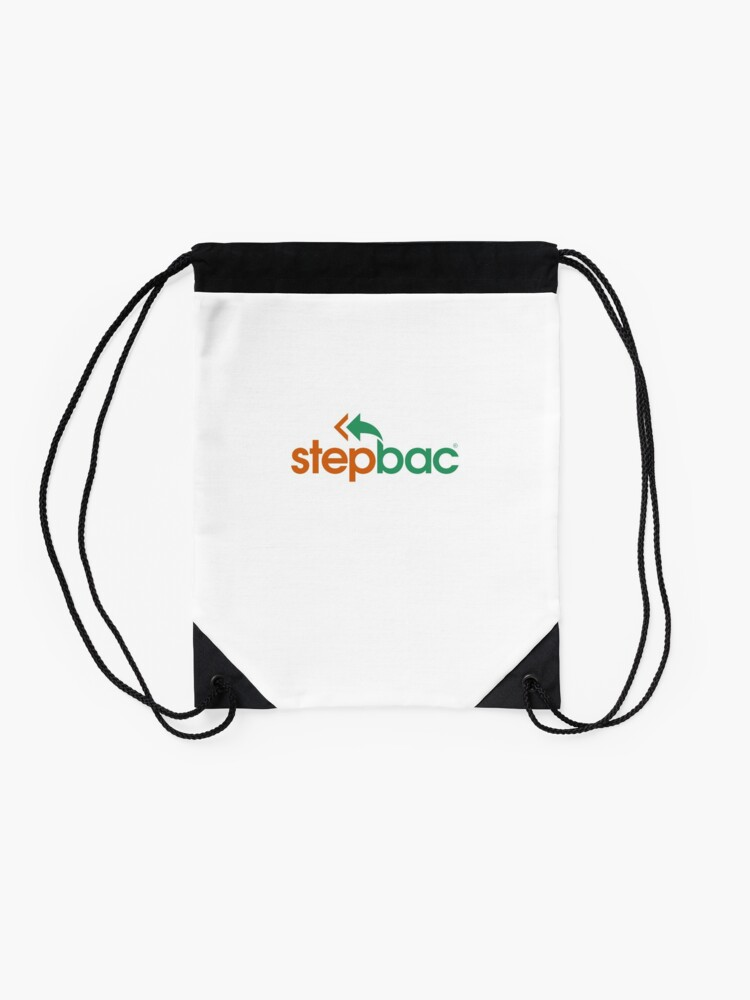 Alternate view of Stepbac merchandise Drawstring Bag