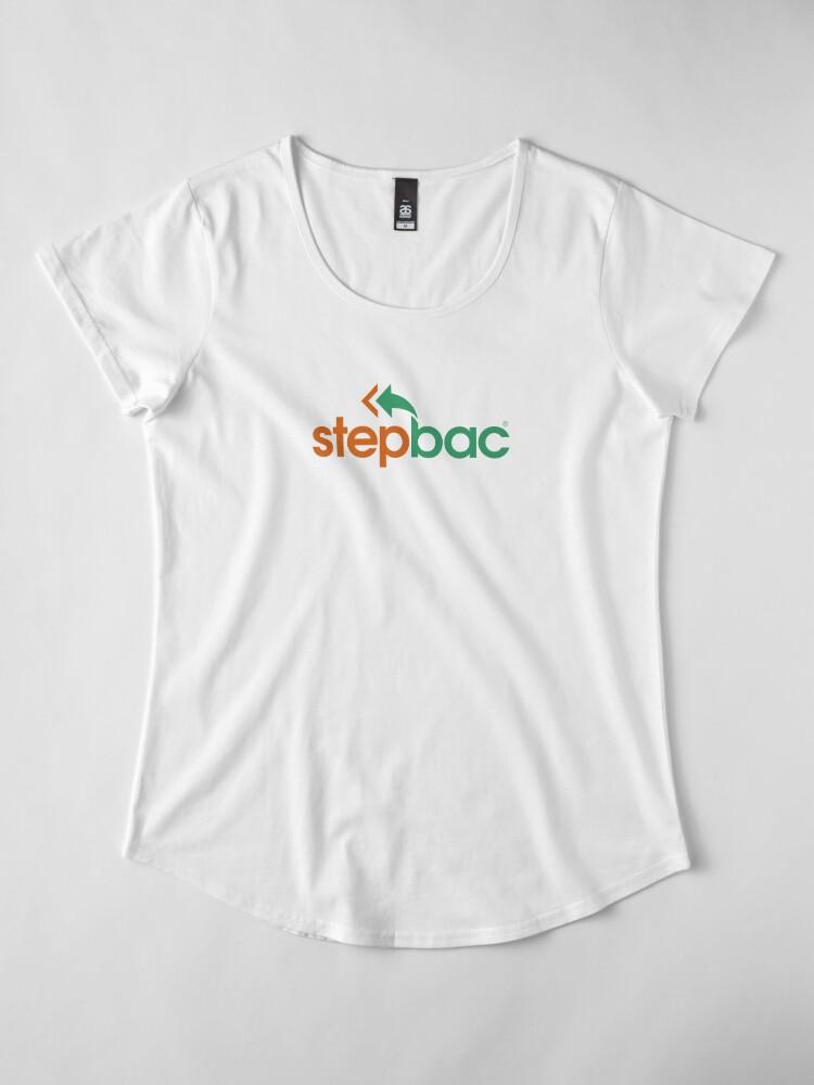 Alternate view of Stepbac merchandise Premium Scoop T-Shirt