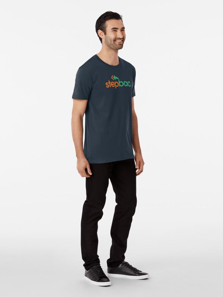 Alternate view of Stepbac merchandise Premium T-Shirt