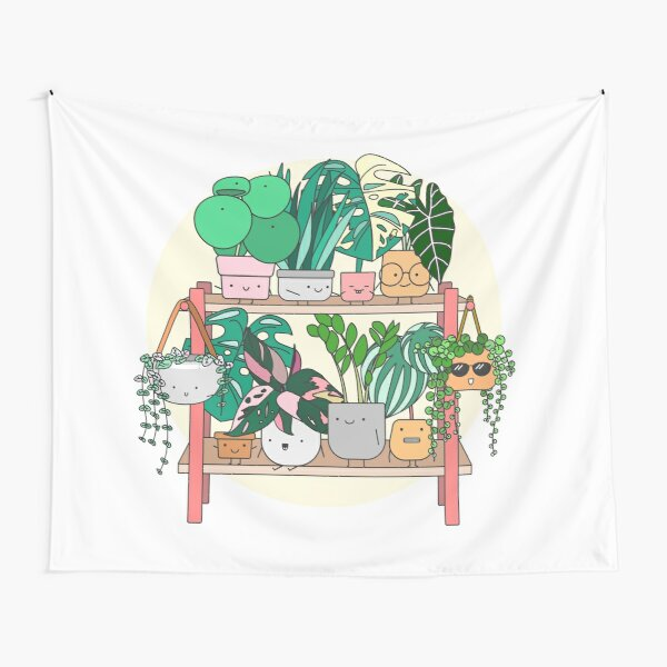 Little Plant Stand of Joy Tapestry