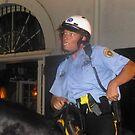New Orleans Policeman on Horseback by photobylorne