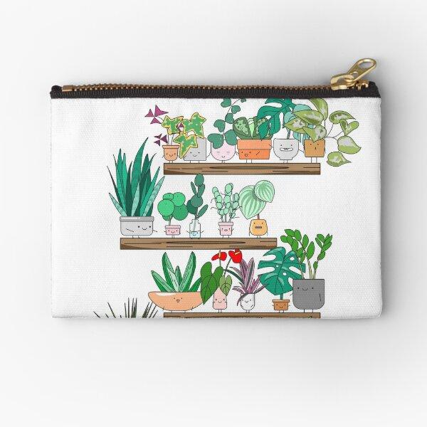 Plant Shelfie Zipper Pouch