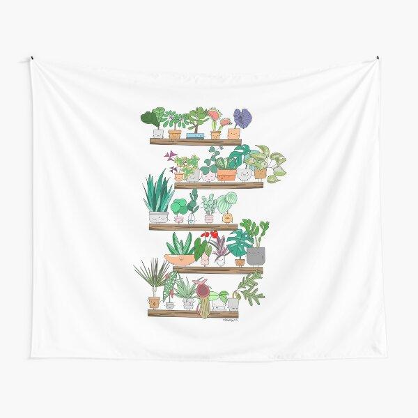 Plant Shelfie Tapestry