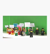 The Protest March Photographic Print