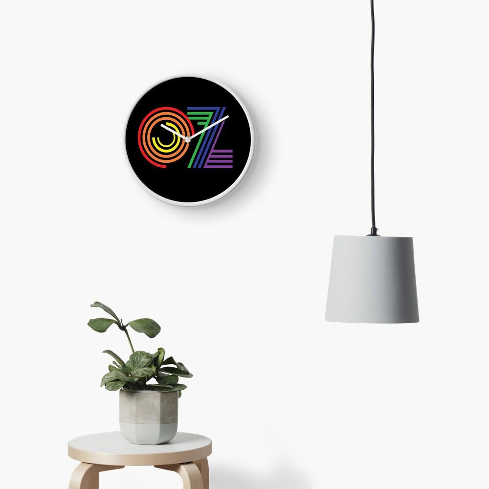 Australia, Aussie, OZ Rainbow Clock