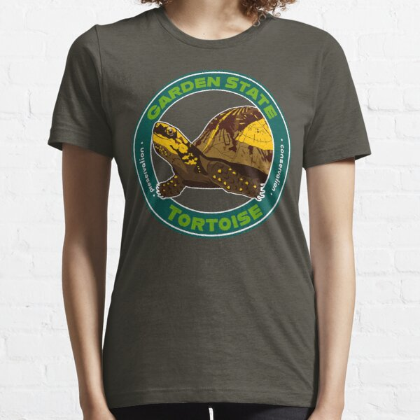 Garden State Tortoise: Flowerback Box Turtle  Essential T-Shirt