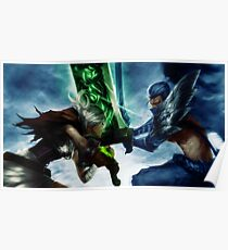 Riven vs Yasuo Poster