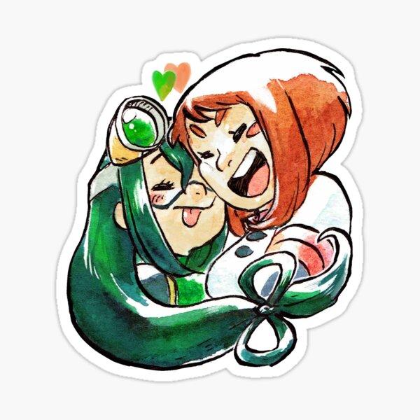 Ochaco x Tsuyu Sticker