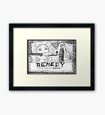 Medicinal Remedy Framed Print