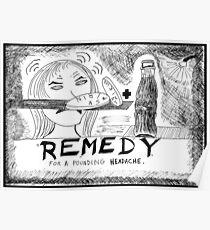 Medicinal Remedy Poster