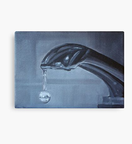 Suspended time Canvas Print