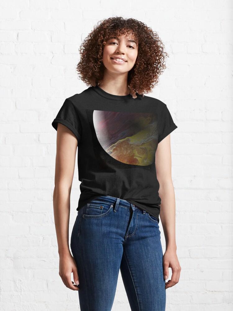Alternate view of Axial Tilt II: planet art Classic T-Shirt