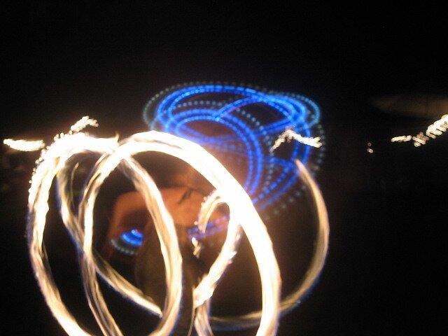 earth dance fire jugglers by bljaromin