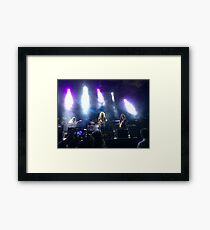Led Zeppelin 2  Framed Print