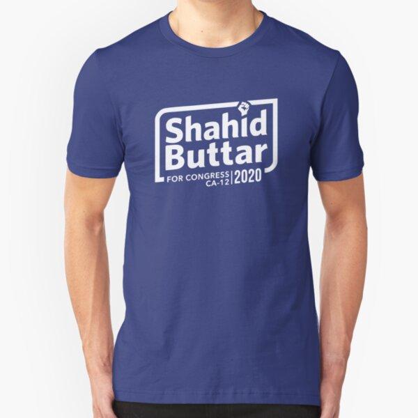Shahid Buttar for congress 2020 Slim Fit T-Shirt