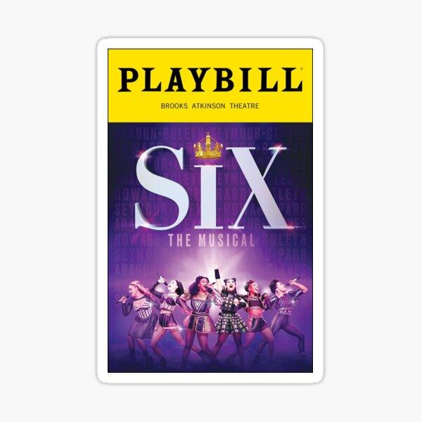 six the musical  Sticker