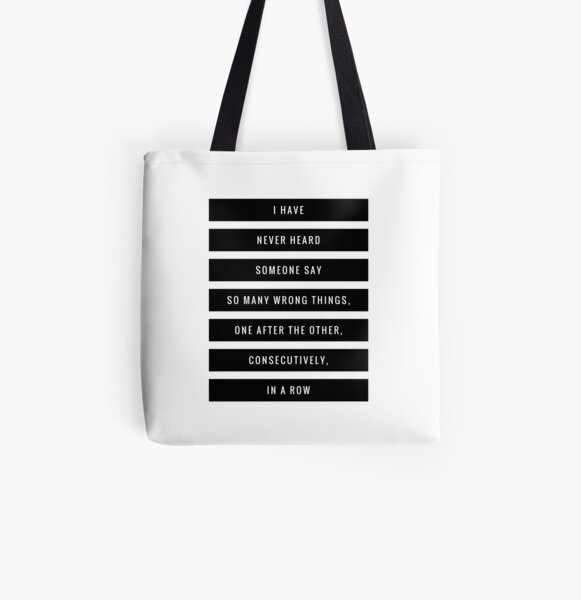 So Many Wrong Things All Over Print Tote Bag