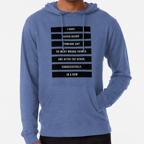 So Many Wrong Things Lightweight Hoodie