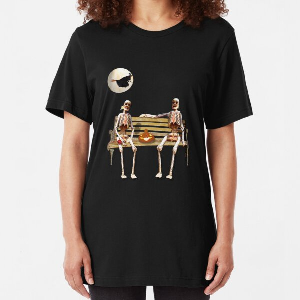 Halloween Date Slim Fit T-Shirt