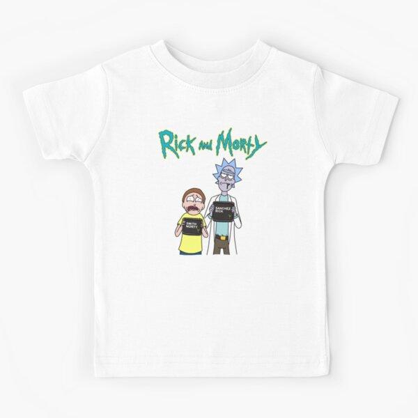 Rick and Morty   Rick and Morty character Kids T-Shirt