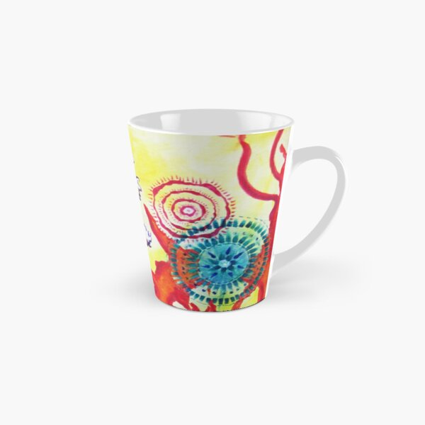 Tie dye Bonsai Tall Mug