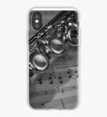 Vinilo o funda para iPhone Flauta