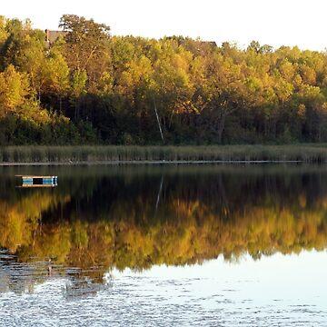 Autumn Reflection by bobmeyers