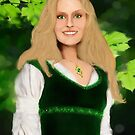 Lady Saluwen by Rowan  Lewgalon