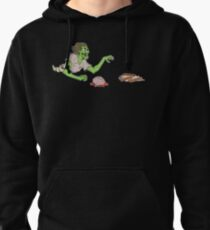 Bacon Zombie Pullover Hoodie