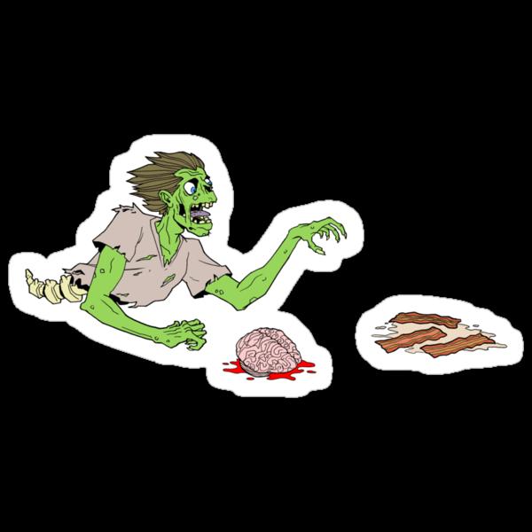 Bacon Zombie by Dennis Culver