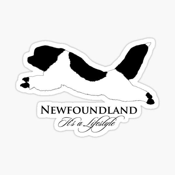 Landseer Newfoundland - It's a Lifestyle Sticker