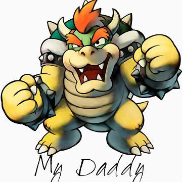 My Daddy Bowser by Bronydragon