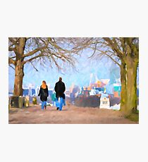 Walking in Greenwich Park Photographic Print