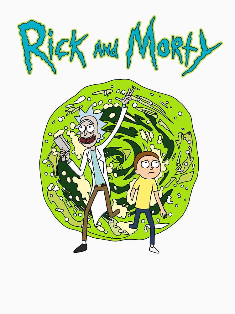 Portal |Rick and Morty by newarts