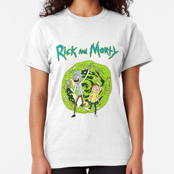Portal  Rick and Morty Classic T-Shirt