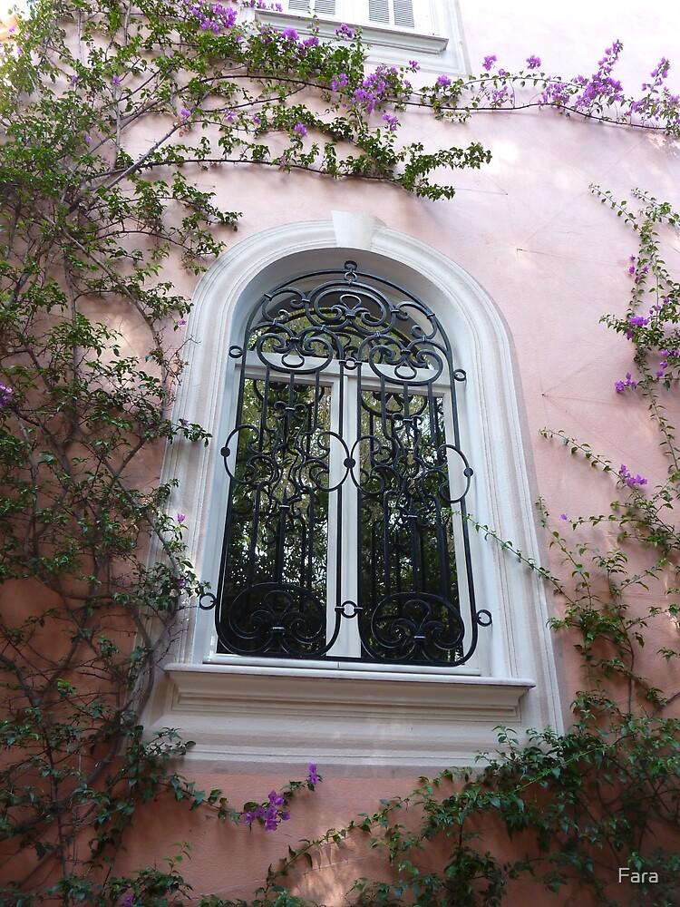 Window On Cap Ferrat by Fara