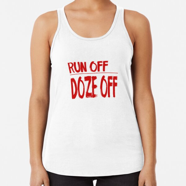 If you're tired, just rest. Racerback Tank Top