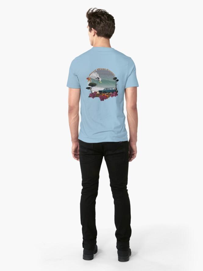 Alternate view of Surf West Coast Tee Slim Fit T-Shirt