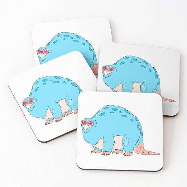 Beebo | Rick and Morty character Coasters (Set of 4)