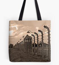 Auschwitz Birkenau concentration camp. Tote Bag