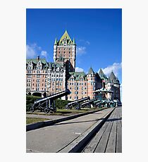 Chateau Frontenac. Photographic Print