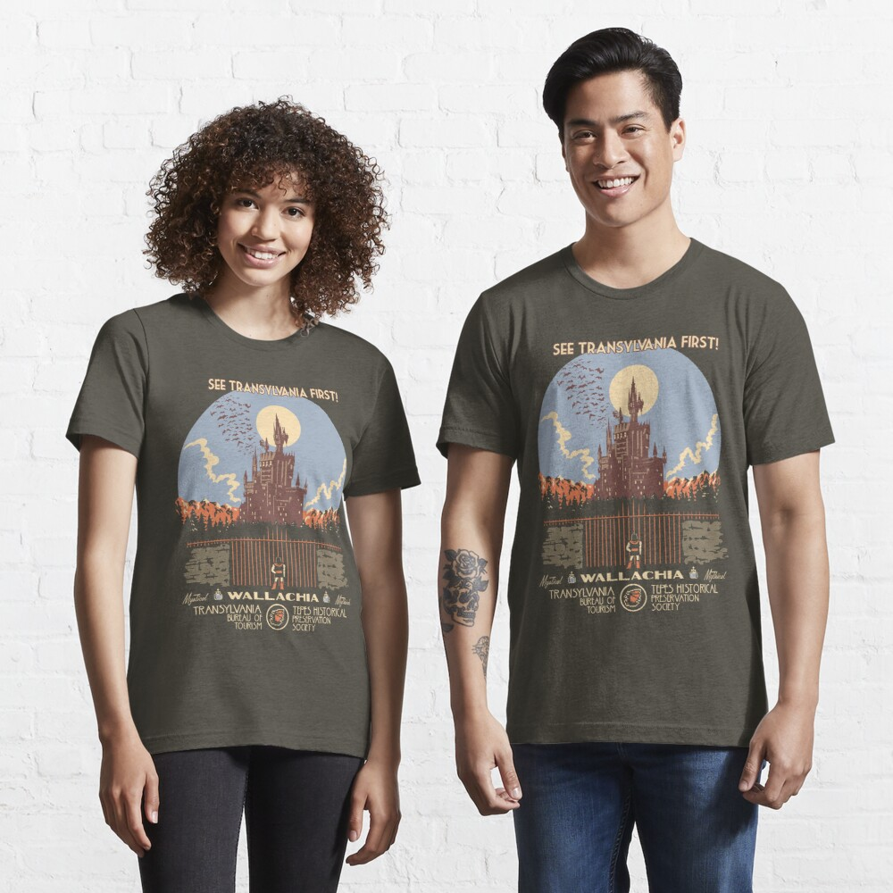 See Castlevania First! Essential T-Shirt