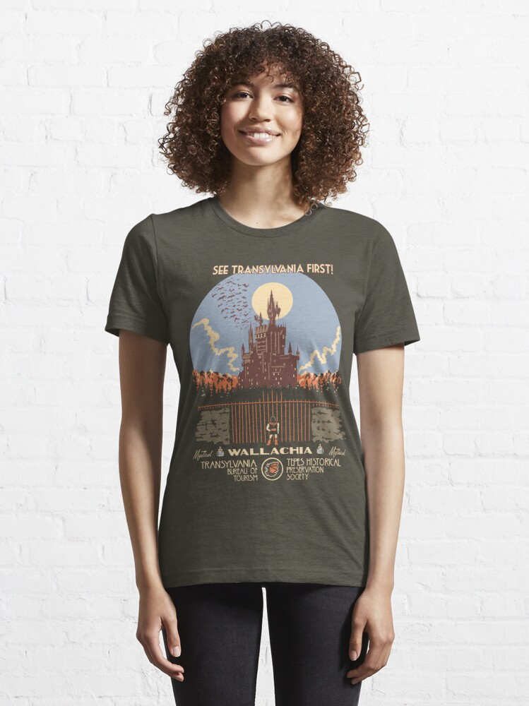 Alternate view of See Castlevania First! Essential T-Shirt