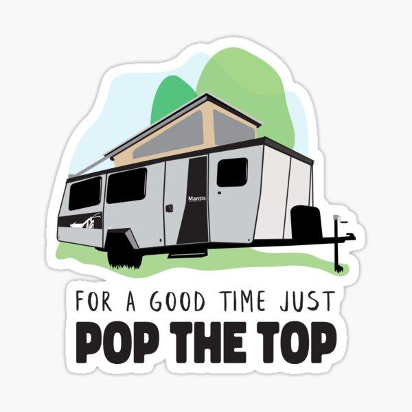Taxa Mantis Good Time Pop Top Sticker